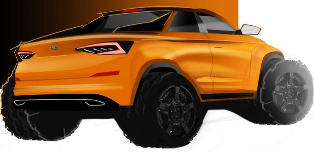 Škoda Kodiaq Pickup concept