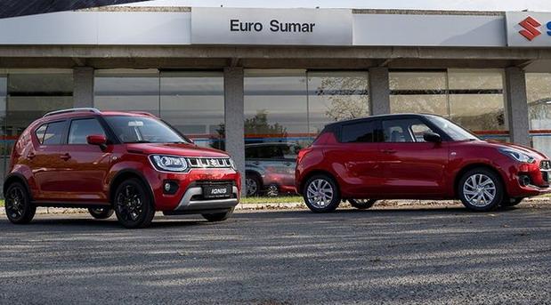 Suzuki Ignis i Swift