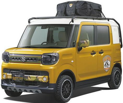 Suzuki Spacia Tall Camper