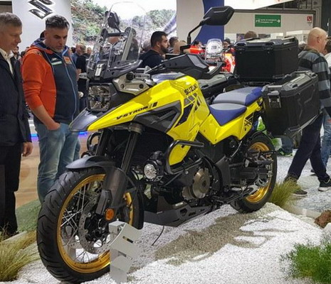 Suzuki na EICMA sajmu u Milanu