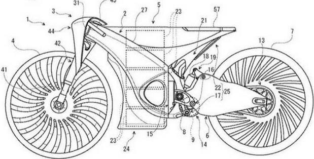 Suzuki sprema hibridni motocikl