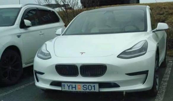 Tjunirani Tesla Model 3