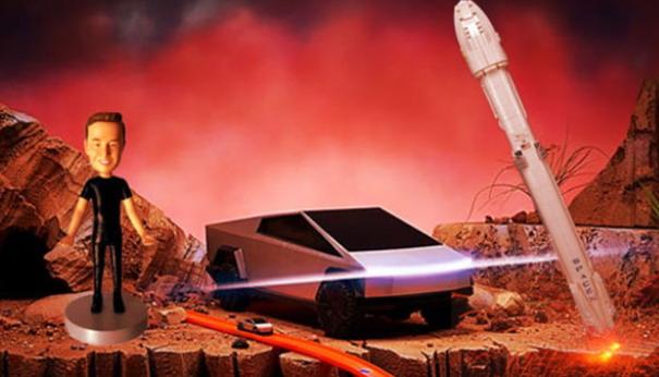 Tesla Cybertruck igračka