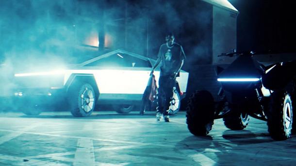 Tesla Cybertruck u muzičkom spotu