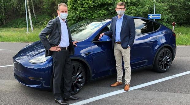 Diess i Tesla Model Y