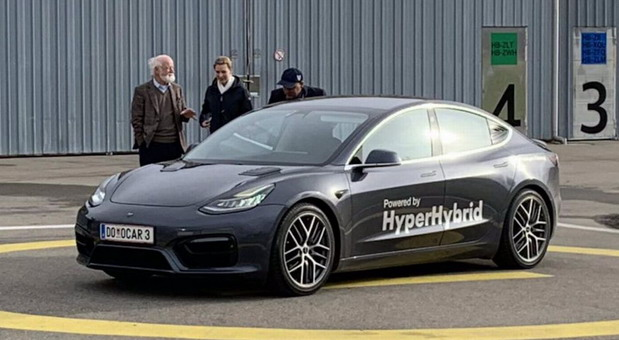 Tesla Model 3 Hyper Hybrid