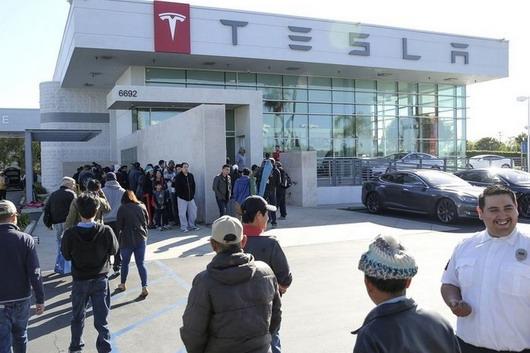 Tesla proizvodnja