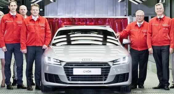 Audi TT Gyor