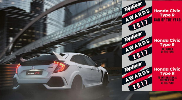 top gear civic type r