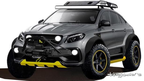 Topcar Inferno 4x4*2 GLE Coupe