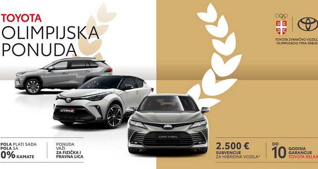 Toyota Olimpijska ponuda