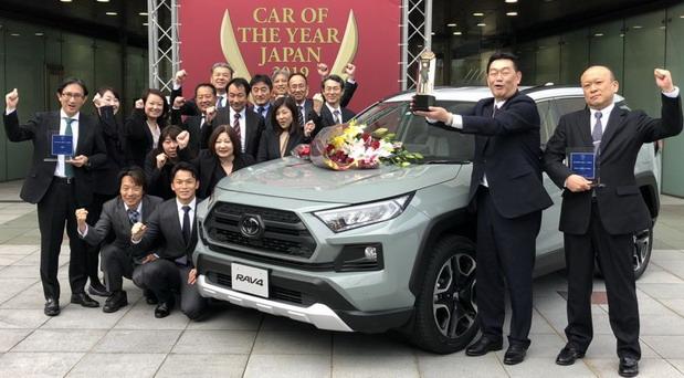 Japanski automobil godine je Toyota RAV4