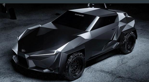 Futuristična Toyota Supra