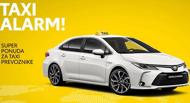 Toyotina Taxi ponuda