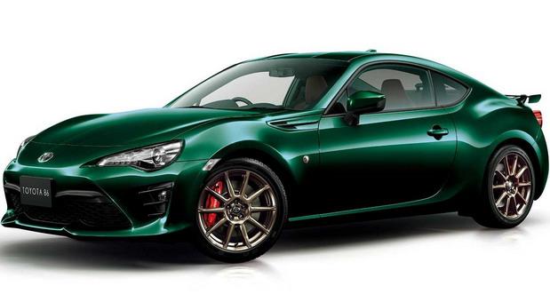 Toyota 86 British Green Limited