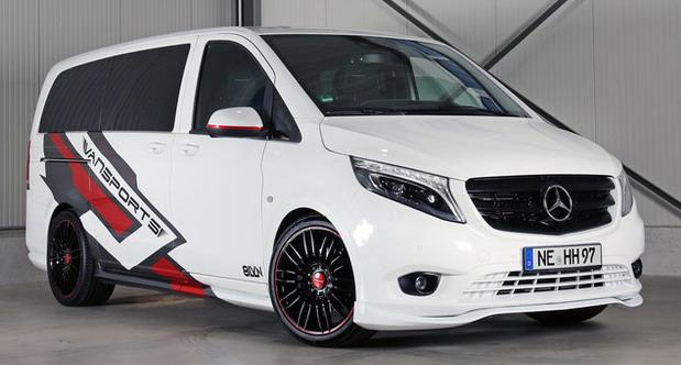 Vansports Mercedes Vito 119 Mixto VP Spirit