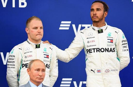 Botas, Hamilton i Putin
