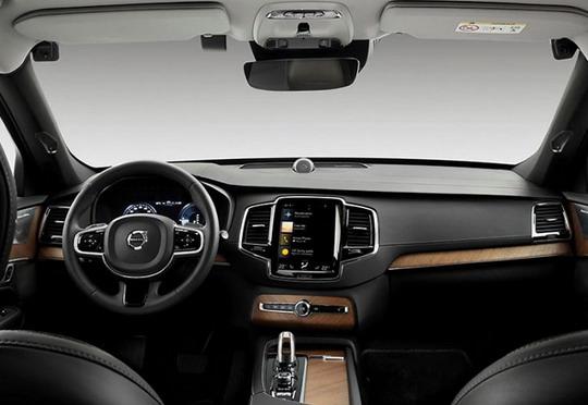 Volvo unutrašnjost