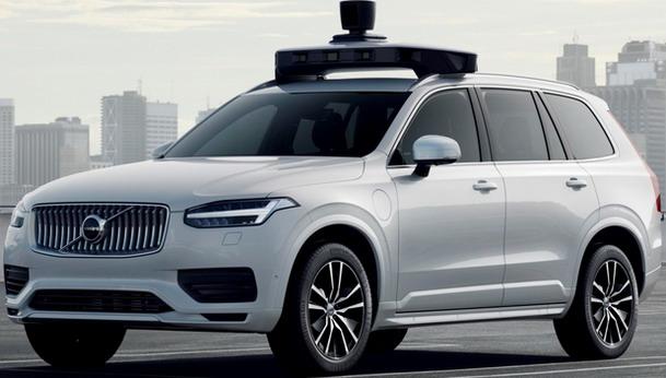 Volvo i UBER XC90