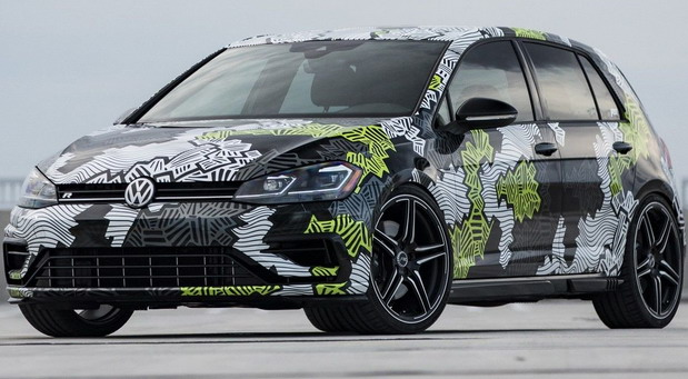 Golf R Abstract concept