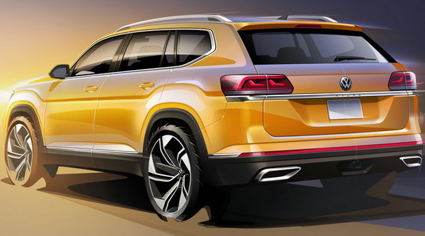 Volkswagen Atlas facelift