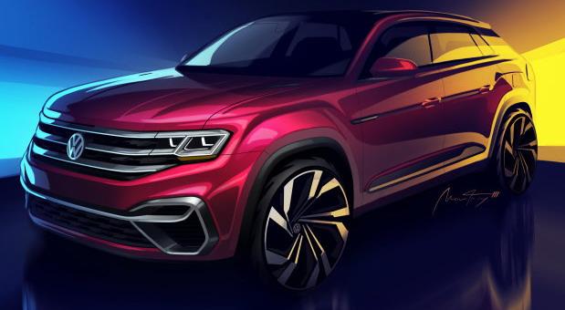 Volkswagen Five-Passenger Atlas concept