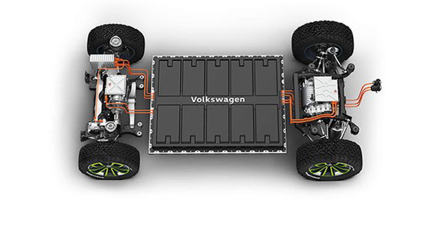 VW baterije