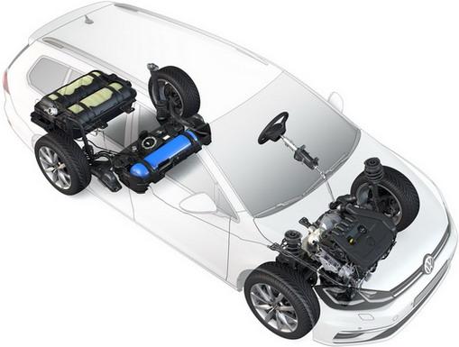 Volkswagen Golf 1.5 TGI Variant