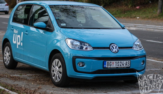 test volkswagen up. Black Bedroom Furniture Sets. Home Design Ideas
