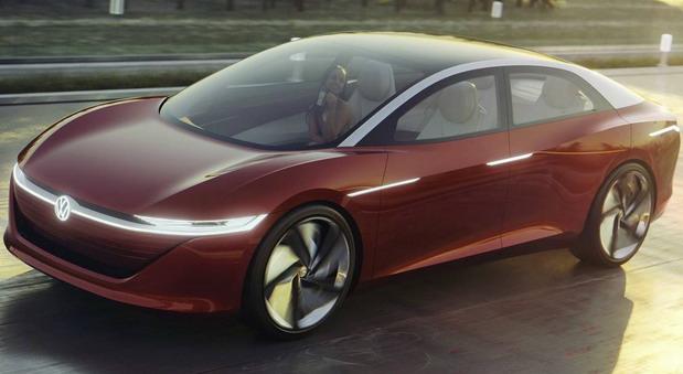 VW I.D. Vizzion concept