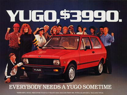 Yugo 3.990 USD